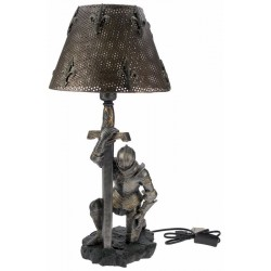 Lampe de table chevalier