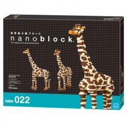Boite de luxe Nanoblock Girafe