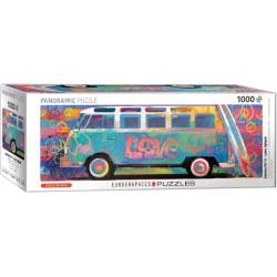Puzzle 1000 pièces Love bus