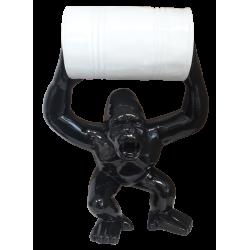 Sculpture Gorille noir et...
